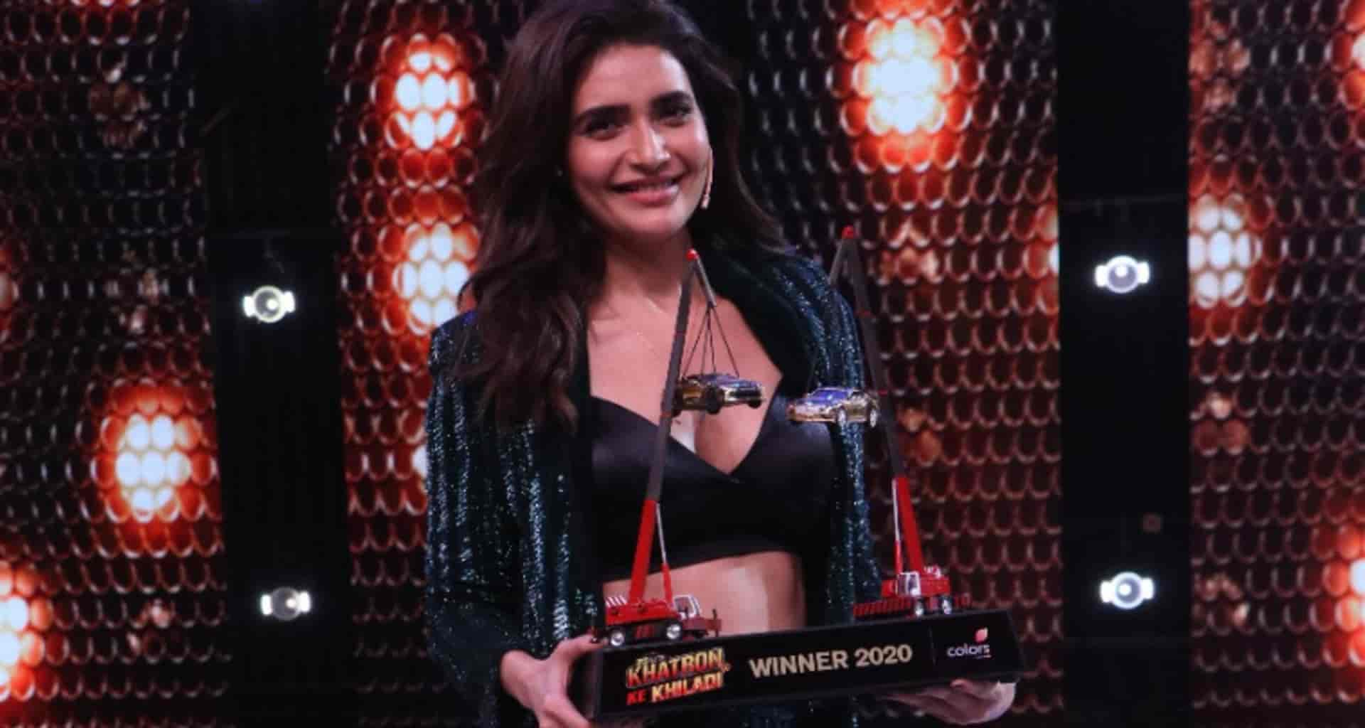 Karishma Tanna first female winner in Khatron Ke Khiladi 10