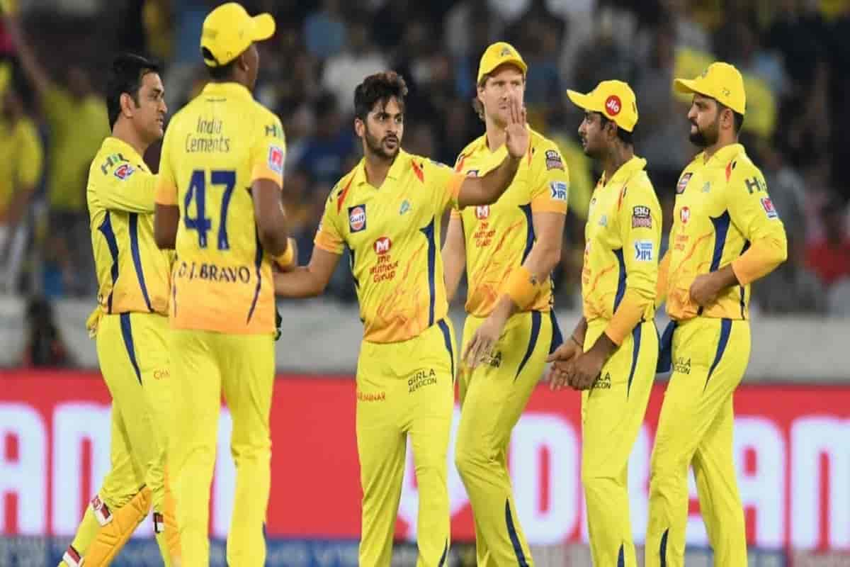 IPL 2020: CSK 1 player and 12 support staff corona positive before IPL?