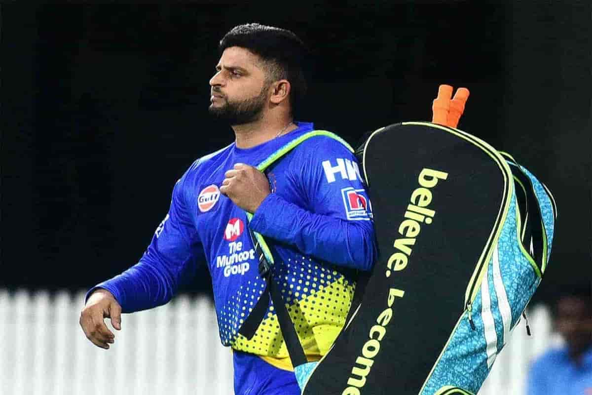 IPL 2020: Suresh Raina left the team for Disagreement over a hotel room