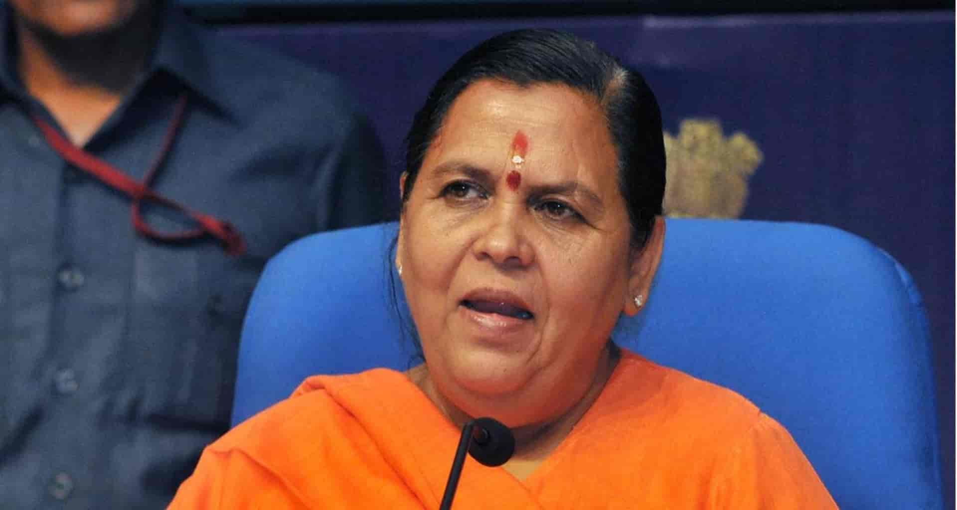 Aamir is a film actor, I also have a favorite but the country is the most favorite: Uma Bharti