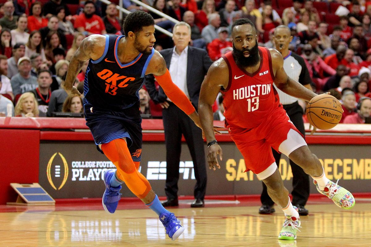 Game 7 NBA Playoffs 2019-20: Houston Rockets vs Oklahoma City Thunder Live Streaming, HOU vs OKC Dream11 Prediction