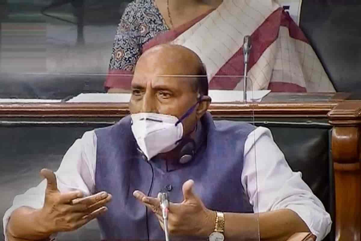 Parliament monsoon session live updates: India and China Border issue still unresolved: Rajnath Singh