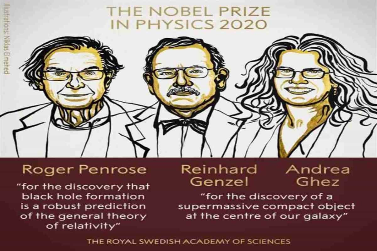 3 scientists share Nobel physics prize for black hole research