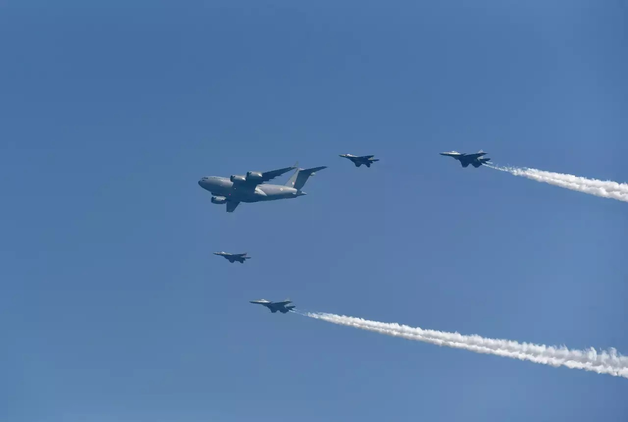 Indian Air Force commemorates its 88th foundation day: Top developments