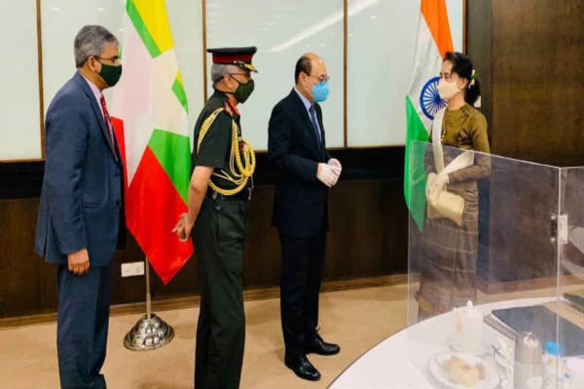 Army chief, foreign secretary to seal shipping agreement and security ties with Myanmar