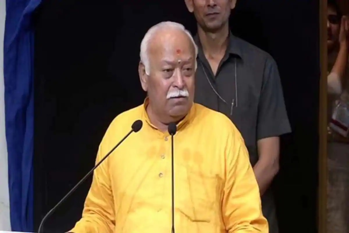 Most content Muslims are only in India… we created a space for them: RSS chief Bhagwat