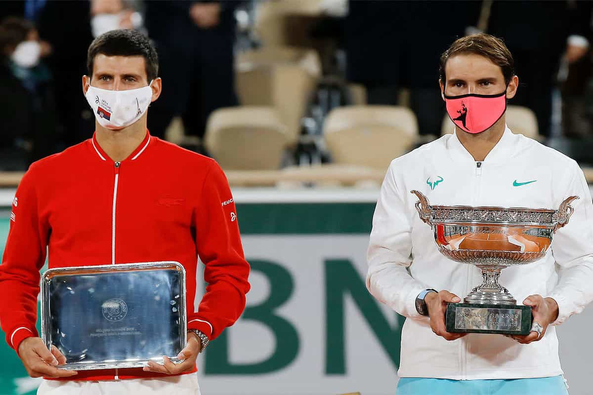 Rafael Nadal wins 13th French Open title to match Roger Federer's record of 20 Grand Slams