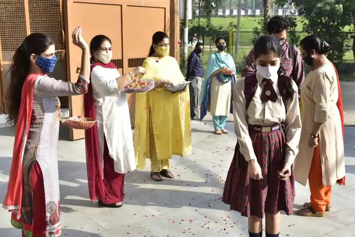Two pvt schools reopen for board classes in Ludhiana