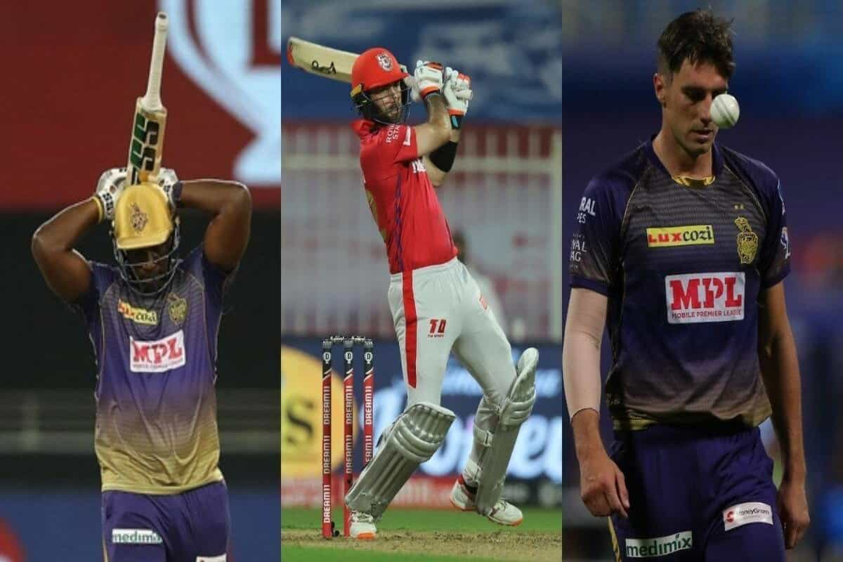From Andre Russell to Pat Cummins: Players who have had a disappointing IPL 2020 so far