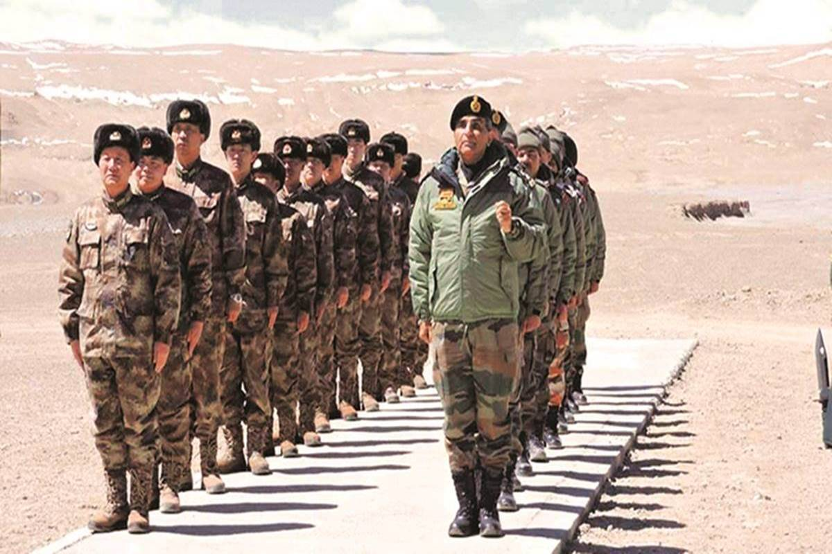 China builds new structures near LAC, relocates troops. India reads a message