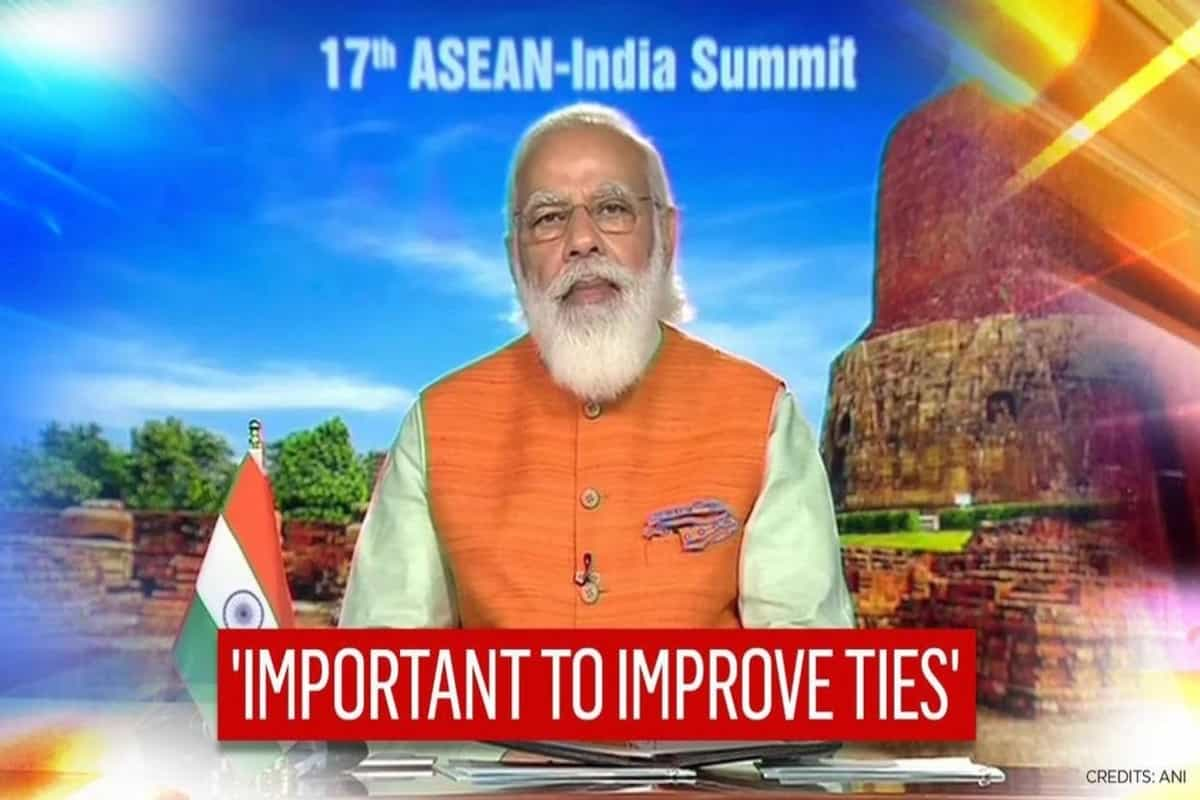 We couldn't take our family photo like every year, says PM Modi at 17th ASEAN-India Summit