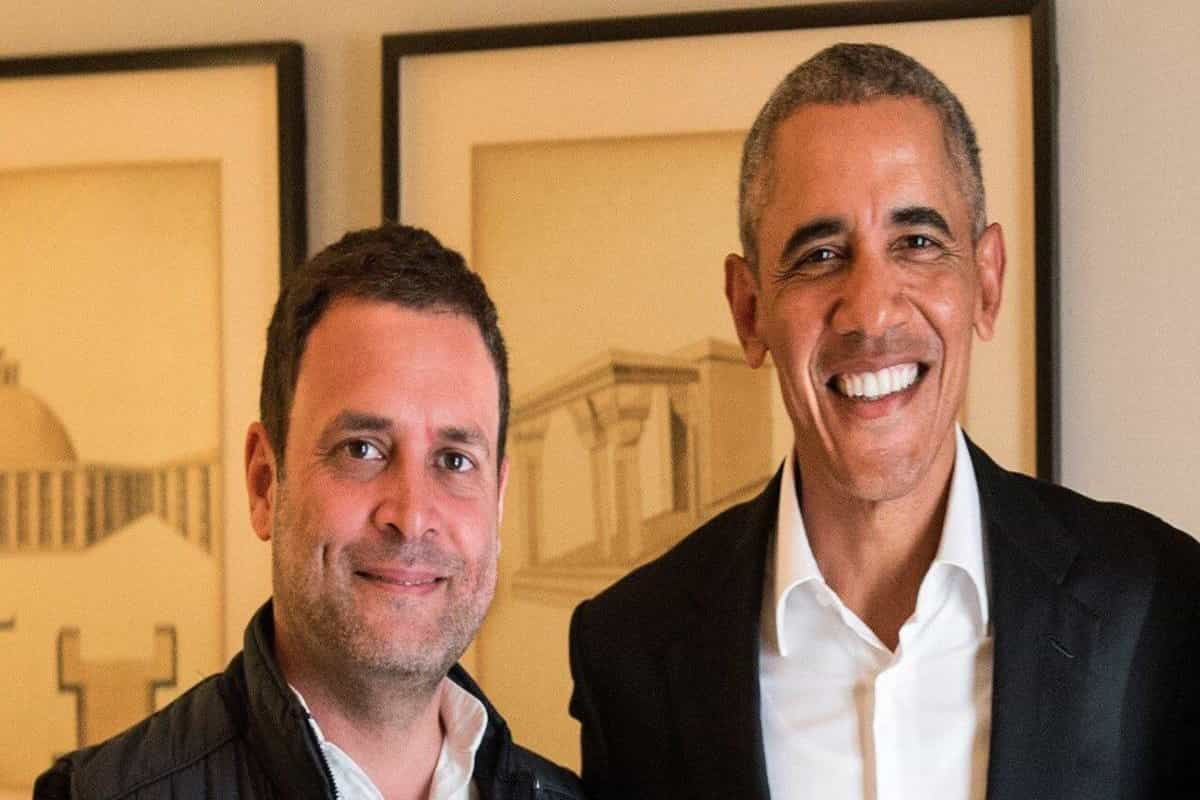 Rahul Gandhi like a student eager to impress his teacher, says Barack Obama in his new book