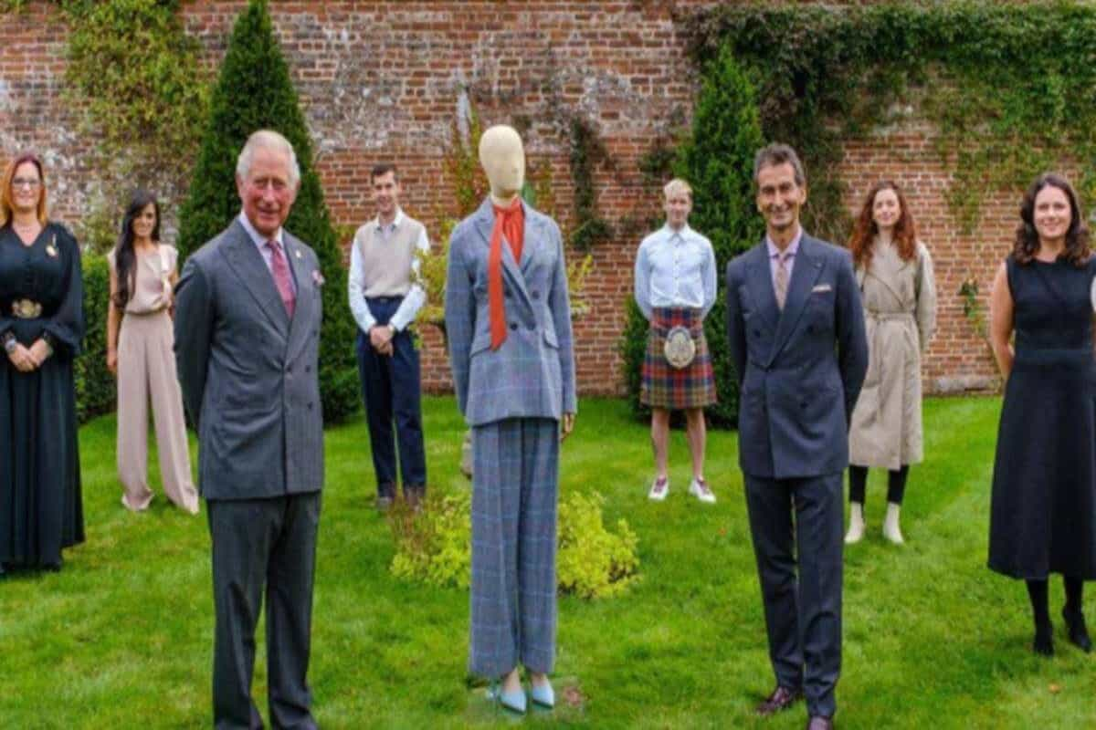 Prince Charles launches sustainable fashion line with luxury retailer