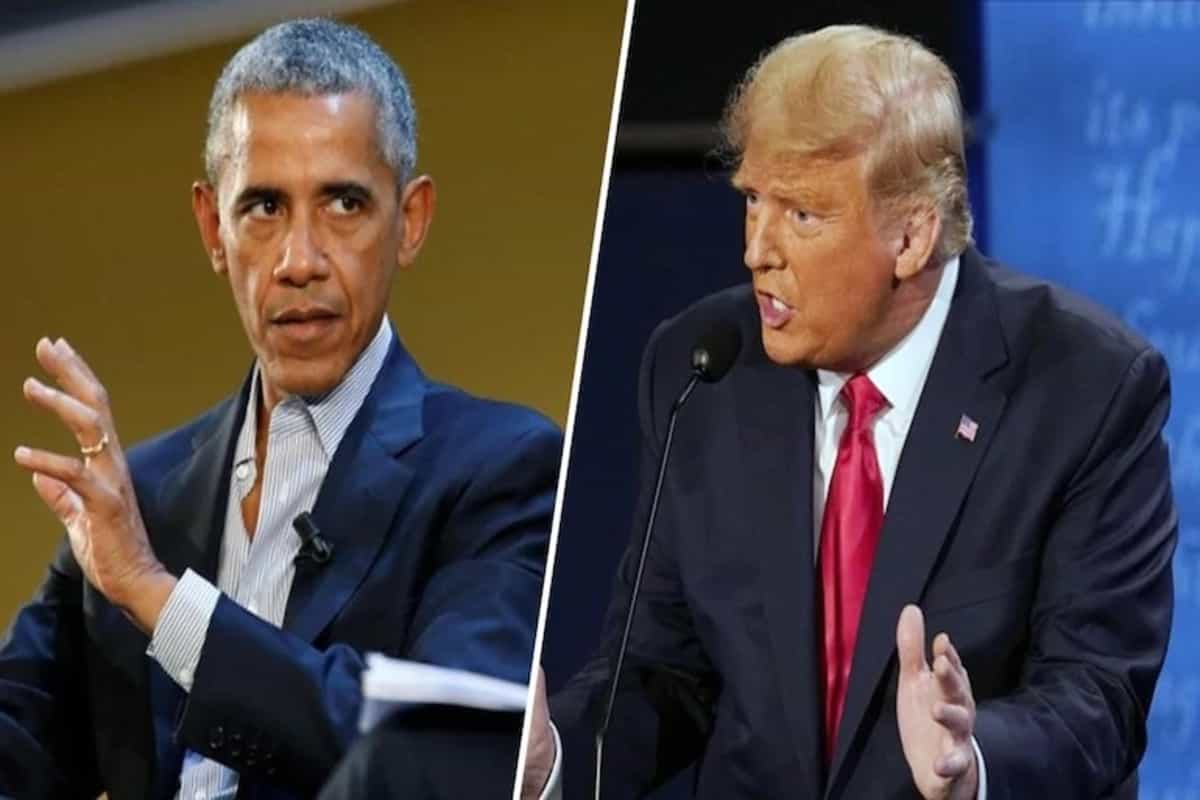 'It is time for Donald Trump to concede': Barack Obama