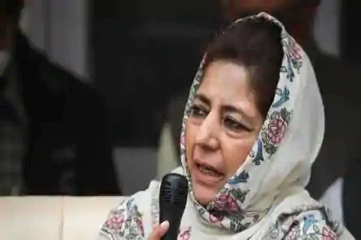 First it was 'tukde tukde', now it's 'Gupkar': Mehbooba Mufti's reply to Amit Shah's 'gang' jibe