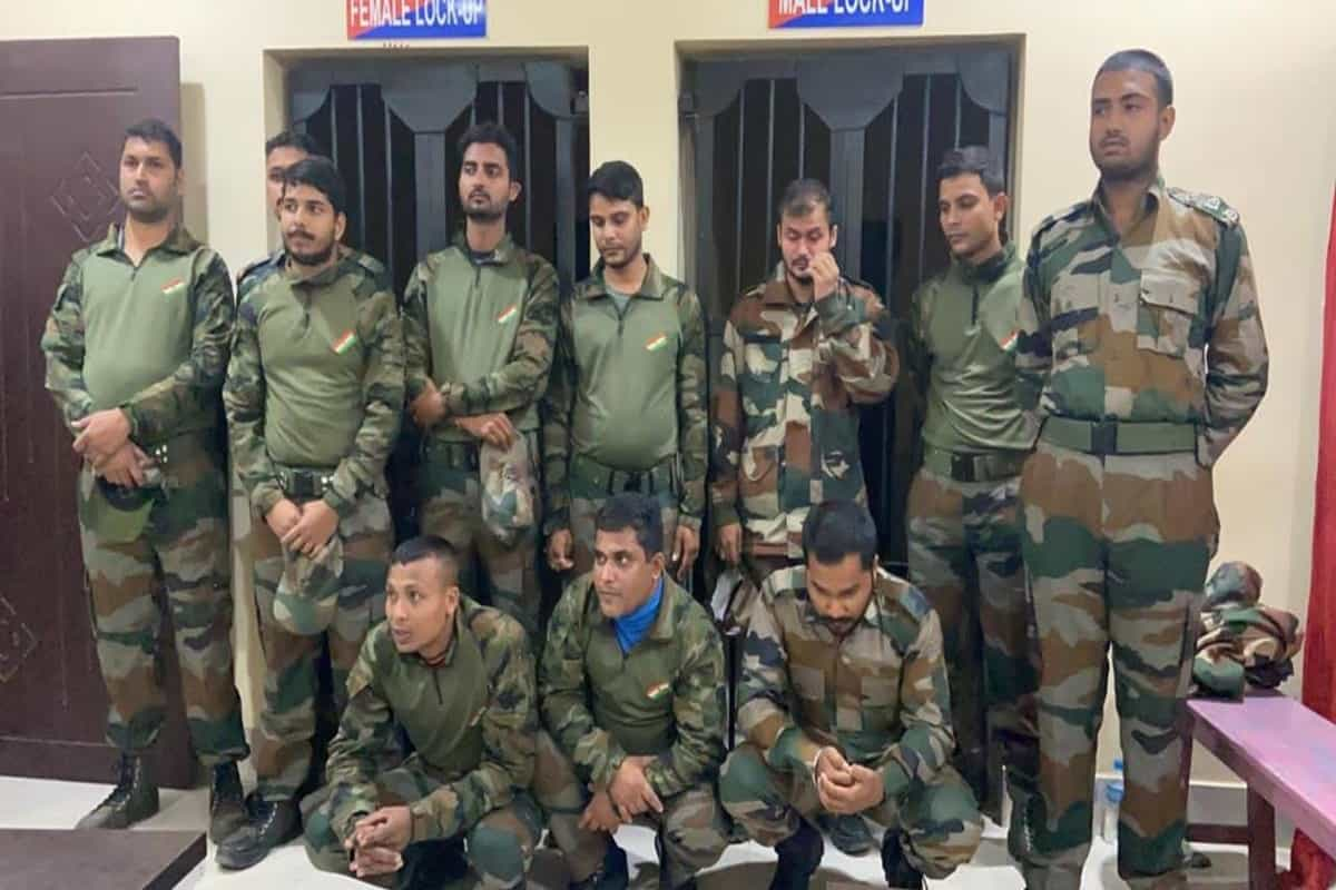 Guwahati: 11 arrested for impersonating Indian Air Force personnel