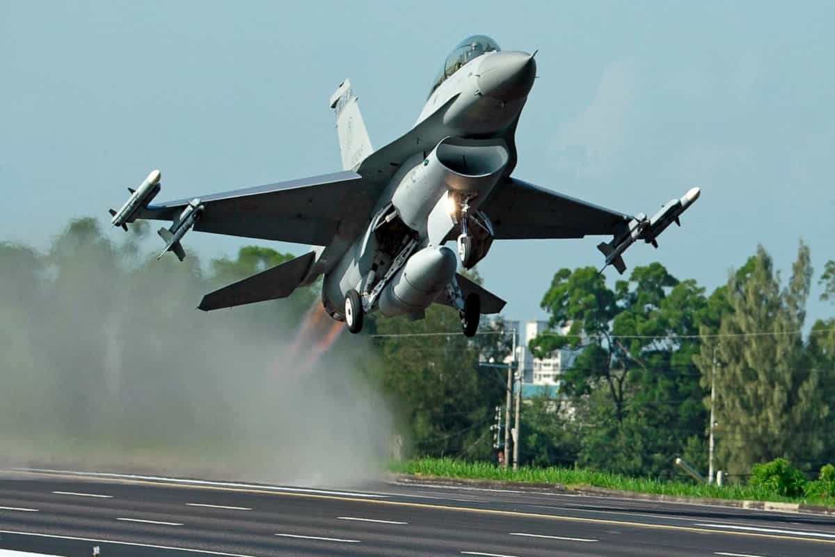 Taiwan says F-16 fighter jet goes missing during training