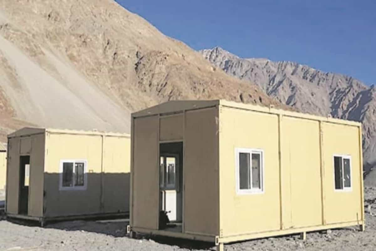 Heated lodgings for additional troops in Ladakh ready