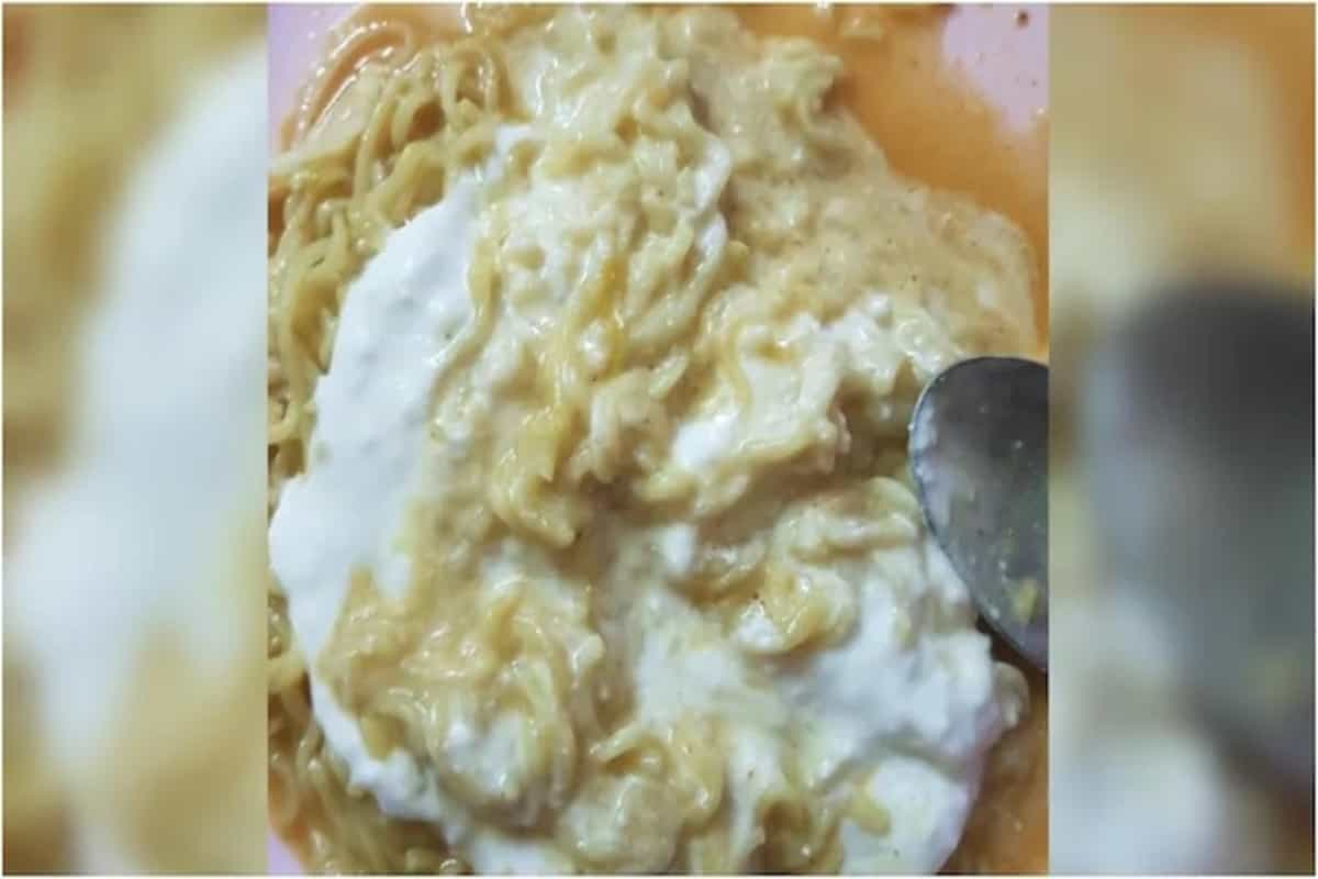 Girl eats Maggi with curd. Internet is divided over viral post