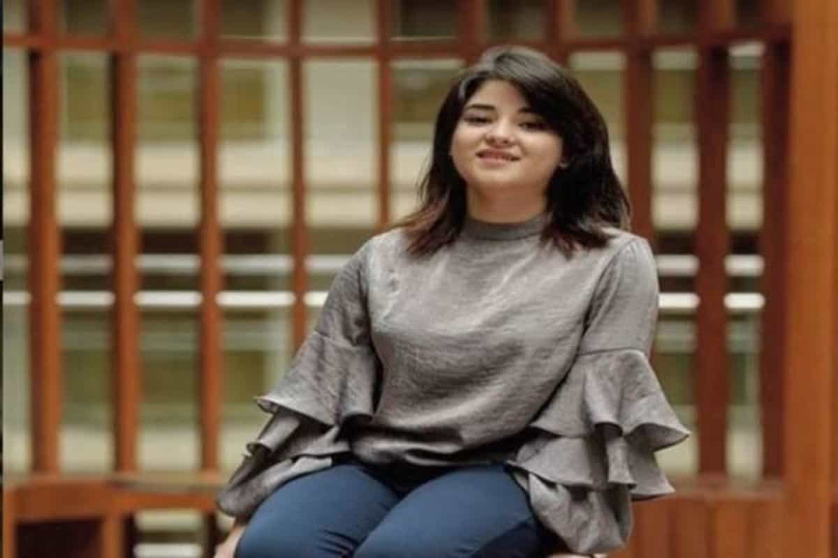 Take down my pictures from your social media accounts, Zaira Wasim requests fans