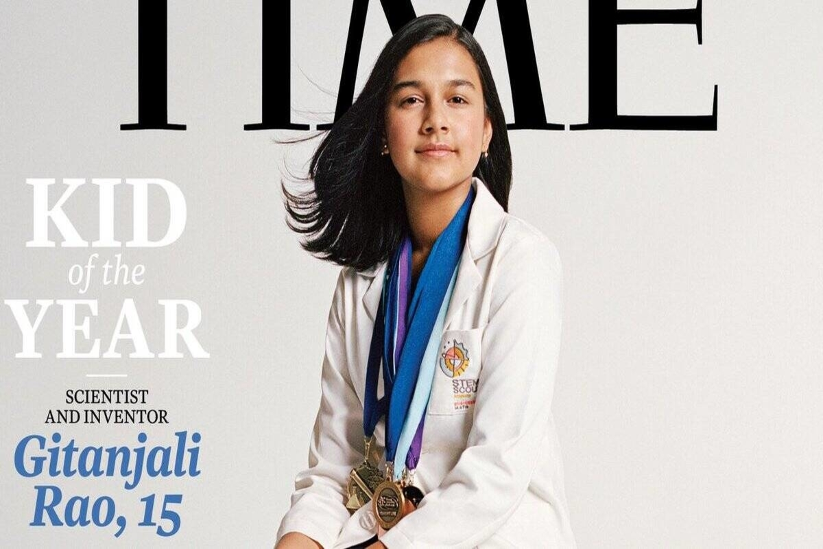 Role model for my two daughters: Photographer who clicked Gitanjali Rao for Time cover