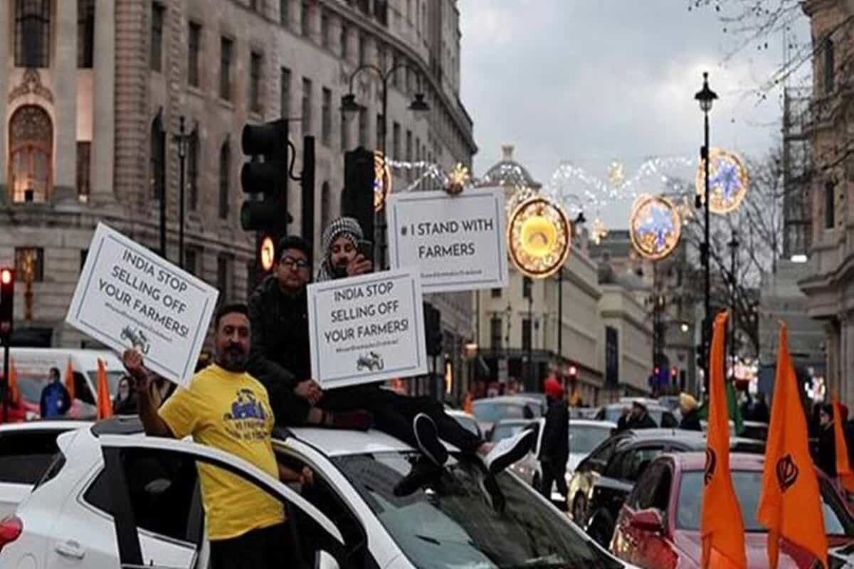 Thousands protest in London against India's farming reforms, several arrested