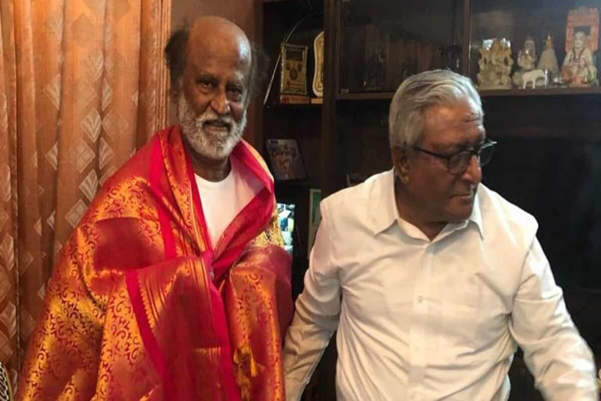 Rajinikanth seeks brother's blessings ahead of political plunge