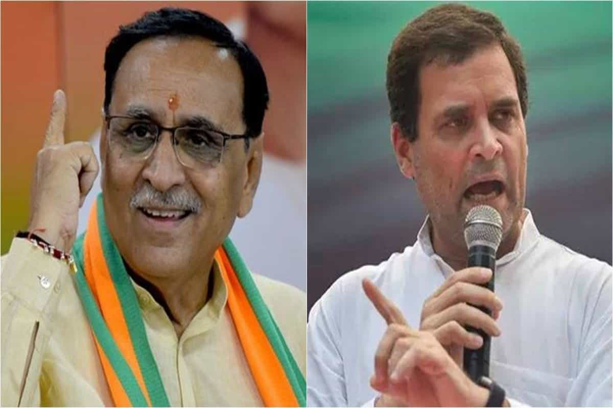 Rupani challenges Rahul Gandhi: Tell the difference between coriander and fenugreek