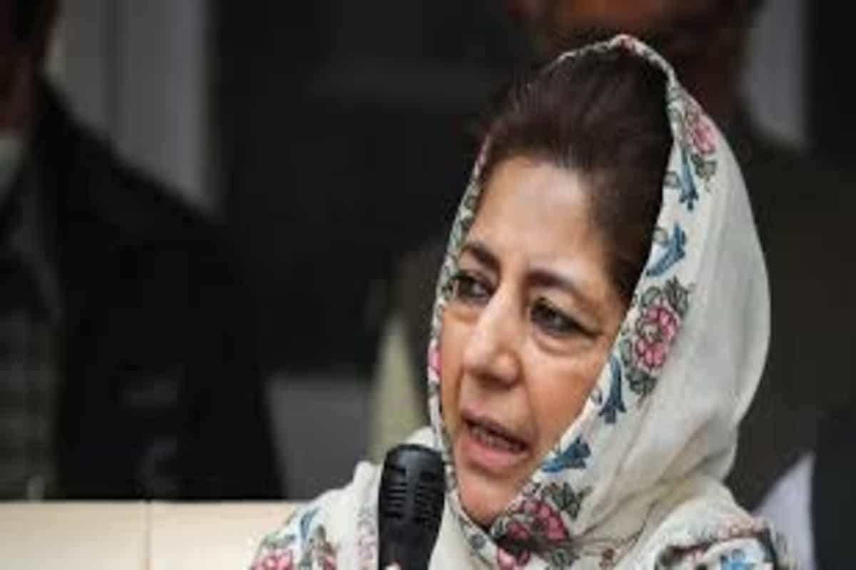 Mehbooba Mufti claims she's 'detained' ahead of Budgam visit