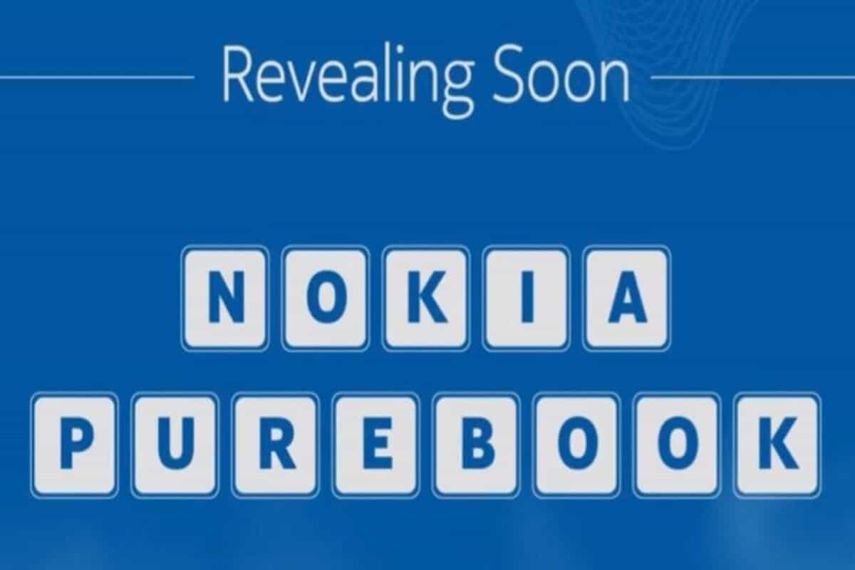 Nokia Purebook laptop to soon launch in India, will be sold on Flipkart