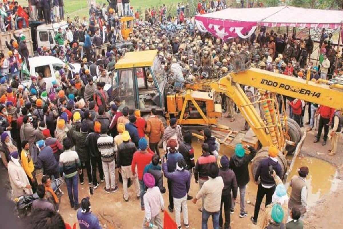 Punjab: Protesters, who clashed with cops, include budding singers and artistes