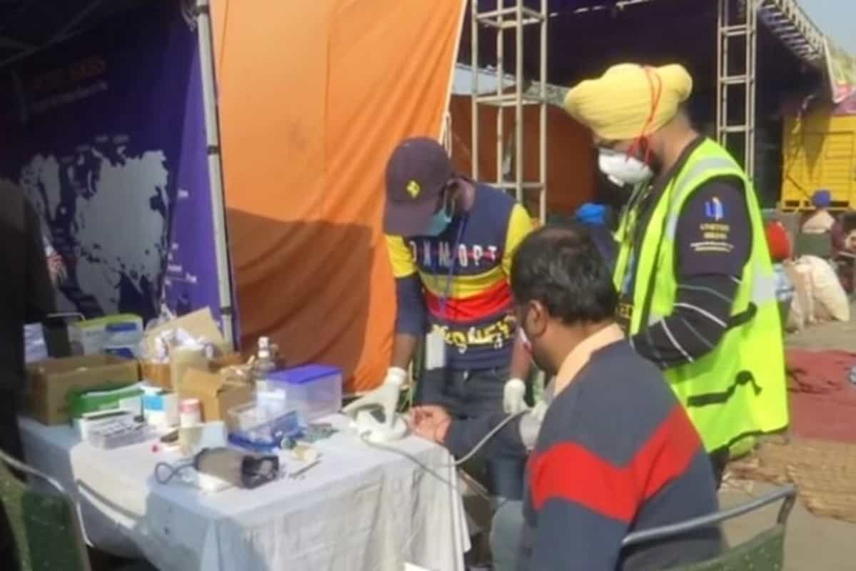 Over 50 medical camps set up for farmers at Singhu border