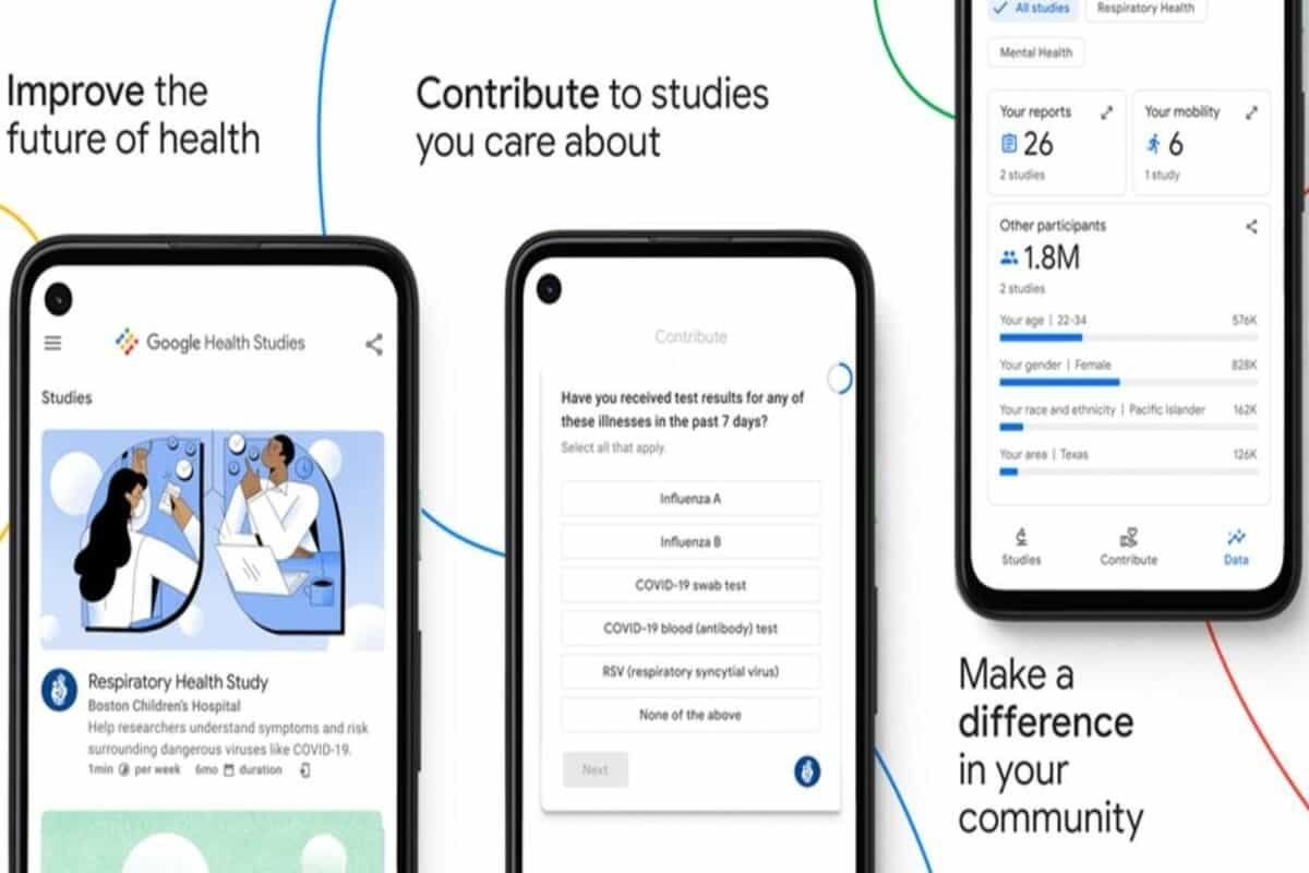 Google Health Research app announced, first study will focus on 'respiratory health'