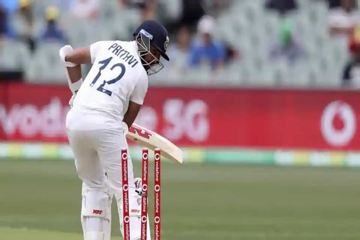 Twitter goes berserk after Prithvi Shaw gets bowled for a duck in day-night Test against Australia