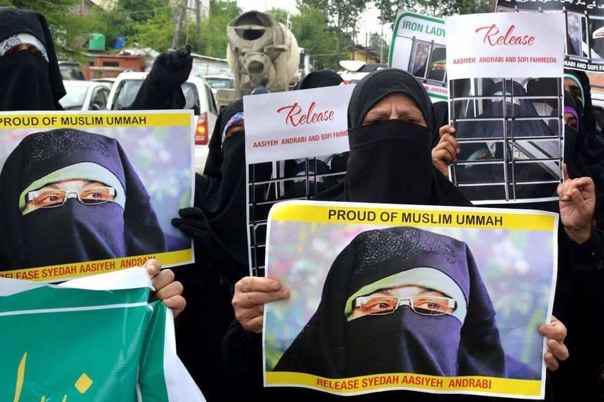Court orders framing of charges against Kashmiri separatist Aasiya Andrabi, others