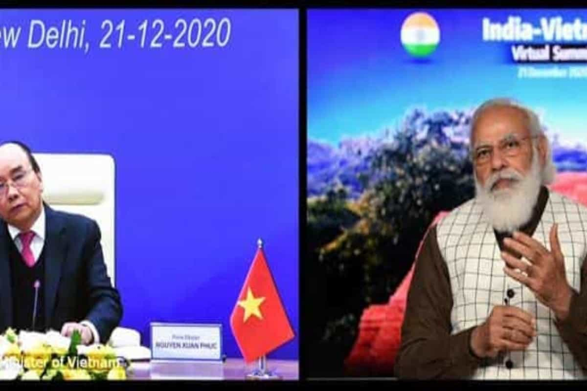 India, Vietnam sign seven agreements during virtual summit