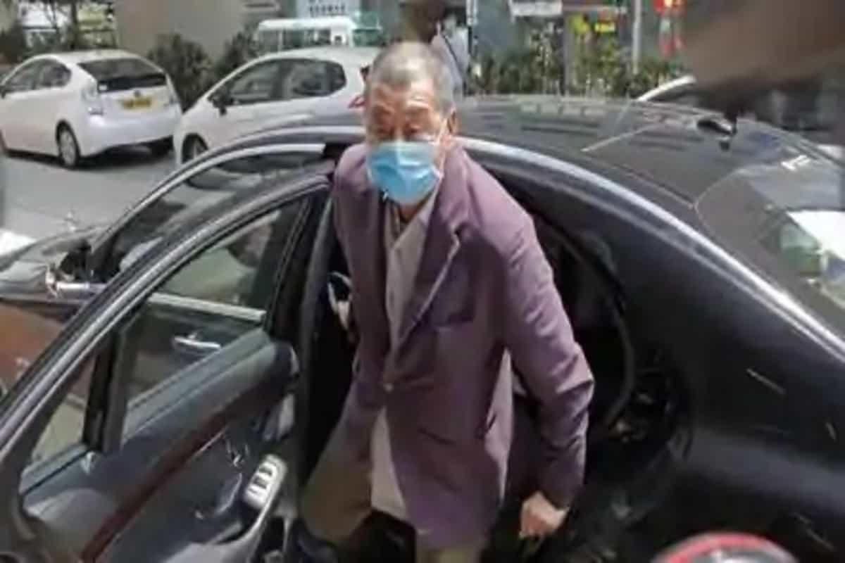 Hong Kong media tycoon Jimmy Lai released on bail
