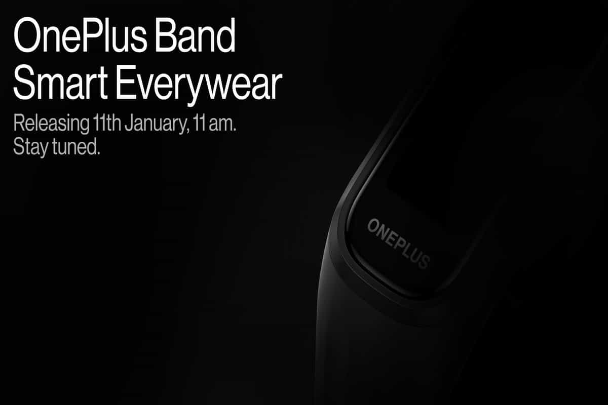 OnePlus fitness band to launch on January 11: Will feature blood oxygen monitoring