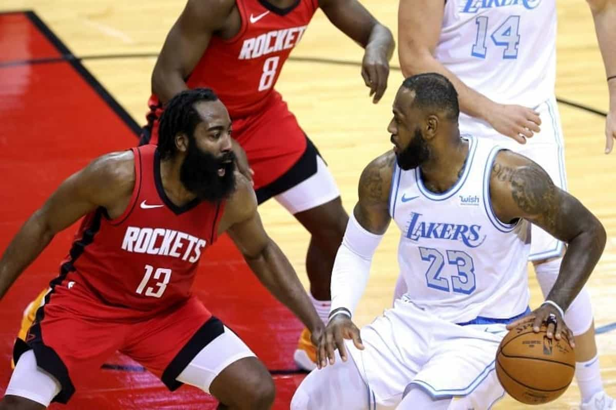 NBA 2020-21: Houston Rockets vs LA Lakers LIVE Streaming, TV Channel, Date, Timing, Results and Lineups
