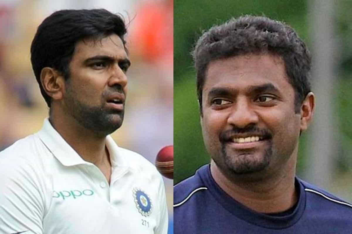 Muralitharan picks between Ashwin and Lyon to get to 800 Test wickets