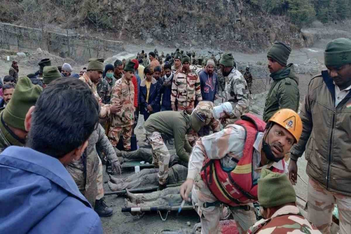 Uttarakhand glacier burst: 14 dead, 170 missing, rescue ops continue
