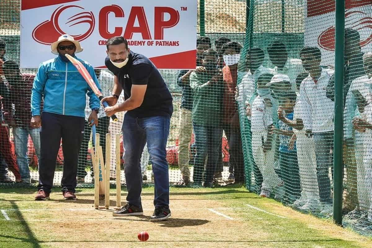 Yusuf Pathan launches cricket academy in Hyderabad