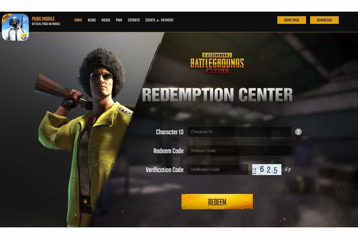PUBG Mobile redeem codes for today (April 15th): Full list of rewards