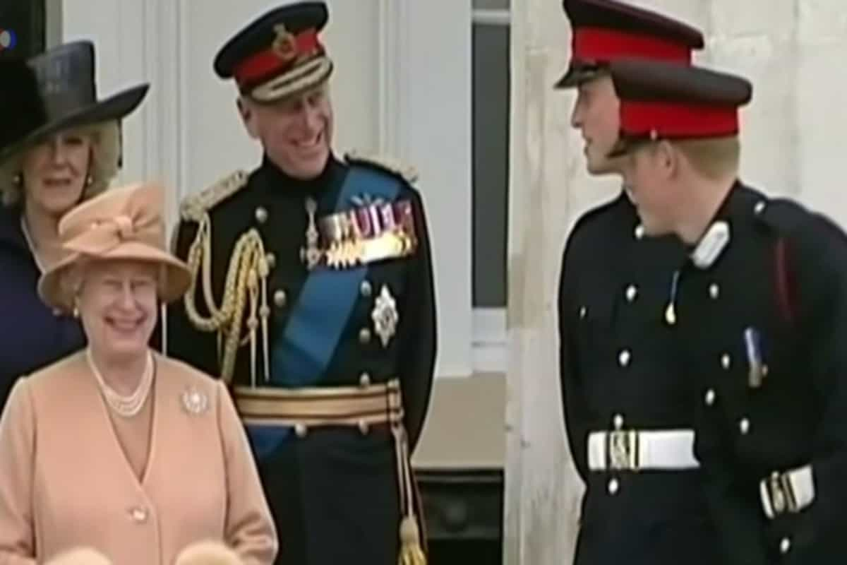 Never-seen-before picture of the Queen and Prince Philip goes viral