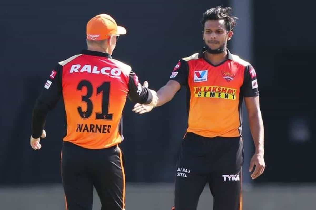 IPL 2021 : Injured T Natarajan might need to exit bubble to get his knee assessed, reveals David Warner