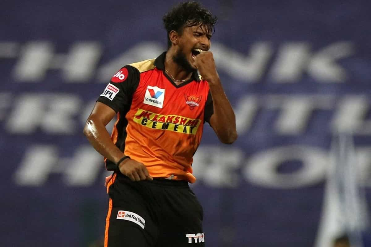 IPL 2021: Sunrisers Hyderabad pacer T Natarajan ruled out of tournament
