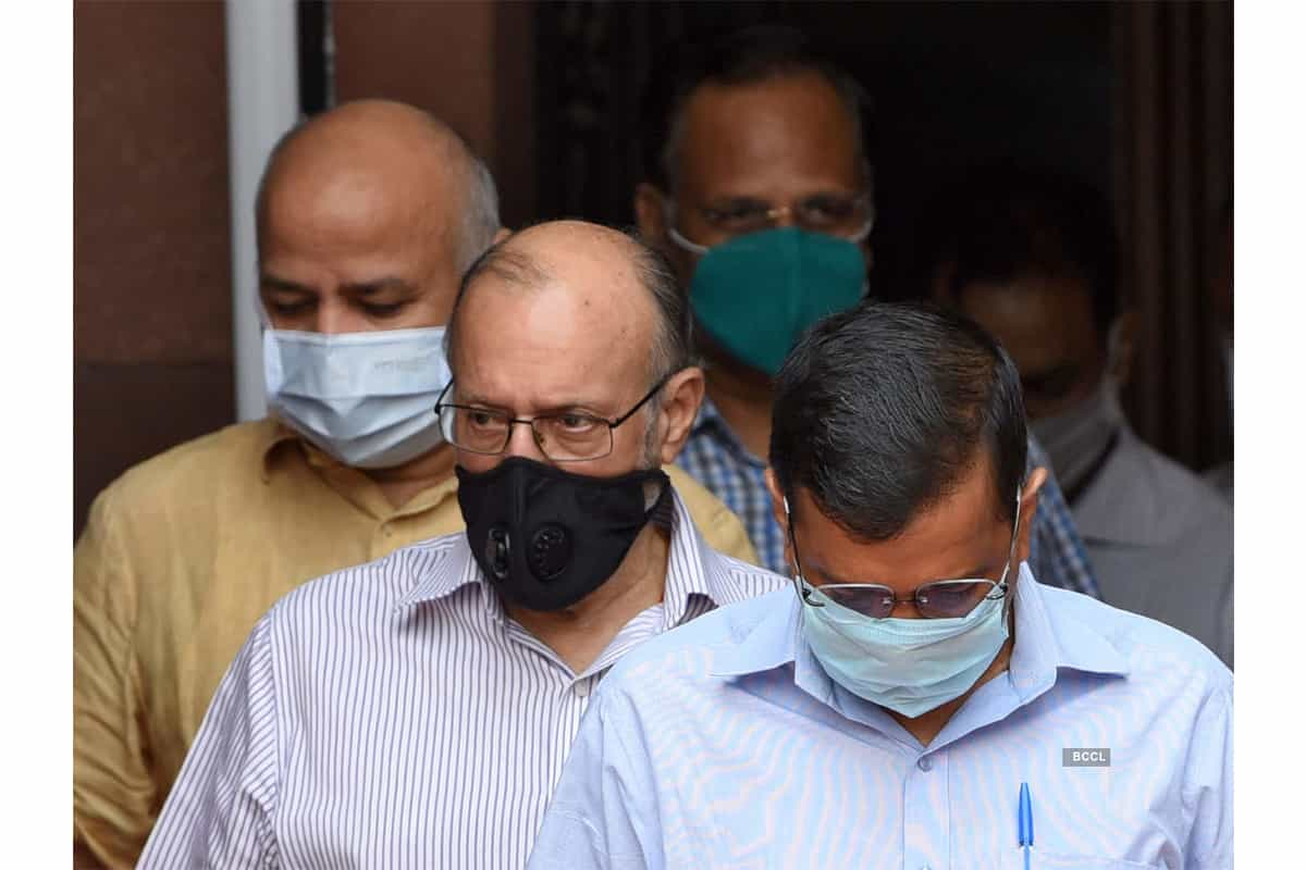 BREAKING NEWS : Delhi L-G Anil Baijal says tested positive for Covid-19 with 'mild symptoms'