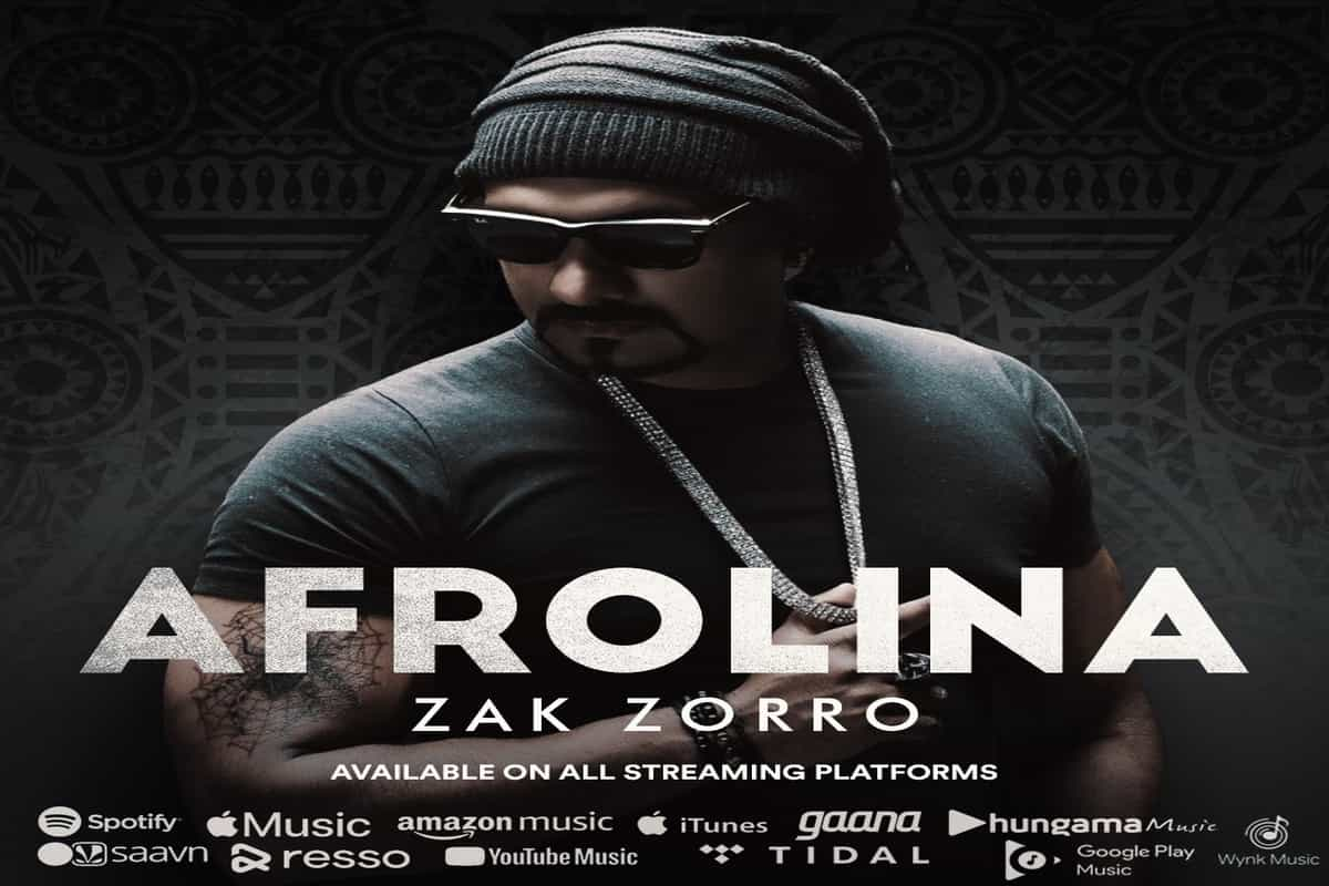 'Zak Zorro' becomes the First Indian Music Producer and Singer to release an Afrobeat Music Album