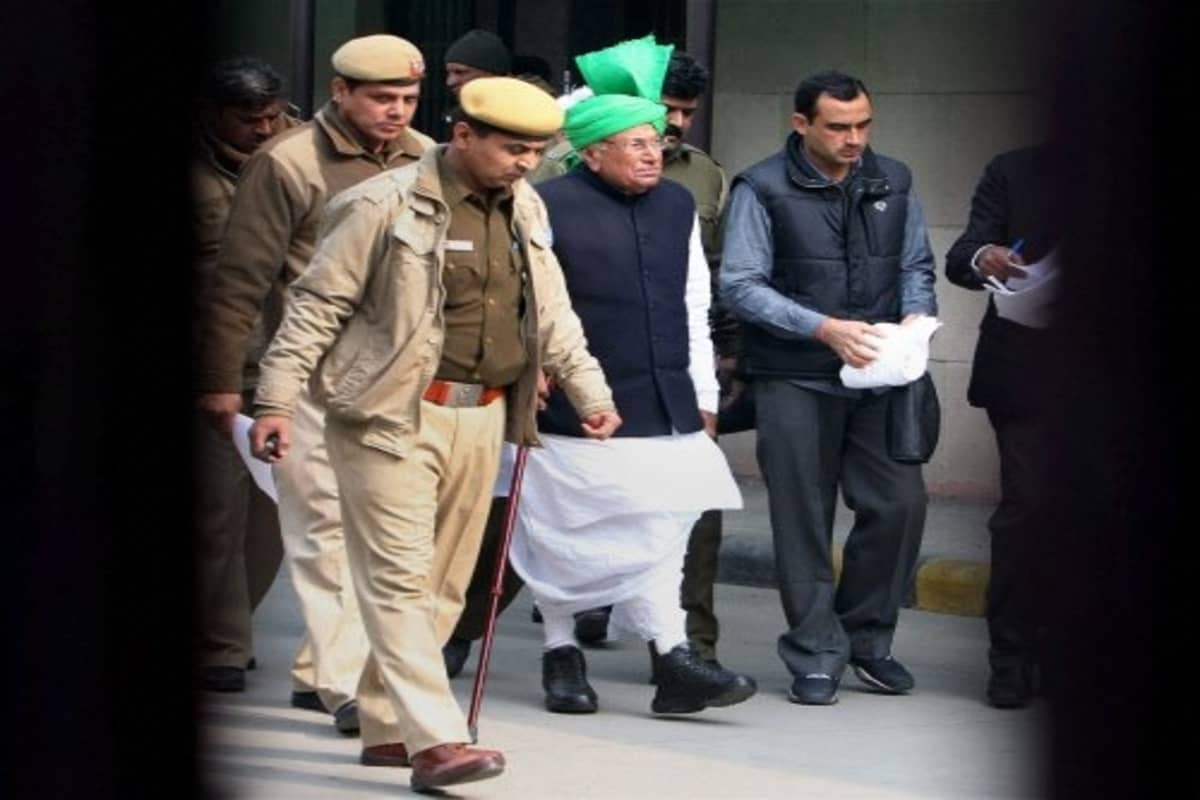 Haryana CM OP Chautala finishes sentence, to be out of prison soon