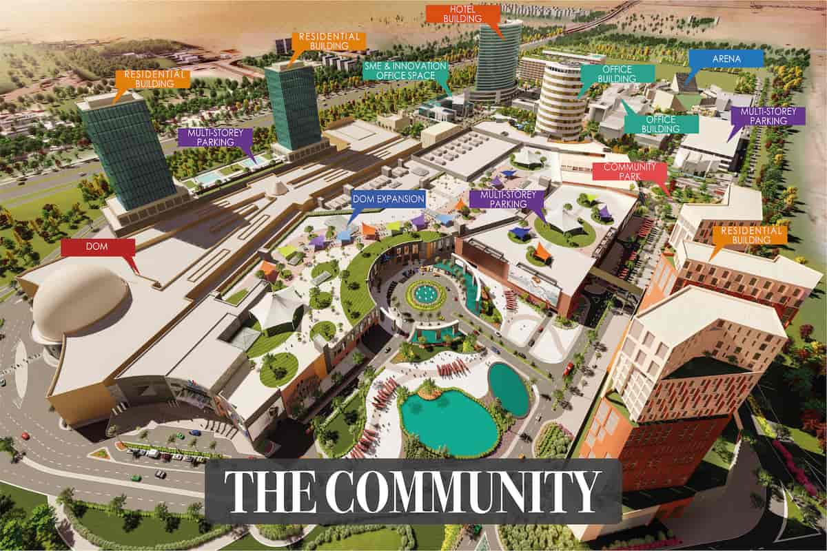 Dubai Based Mall and Lulu Group to deliver the region's First Mega Market concept